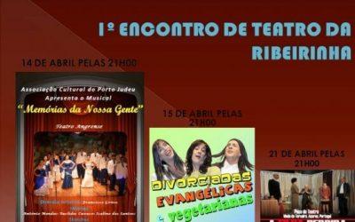 1º Encontro De Teatro Da Ribeirinha