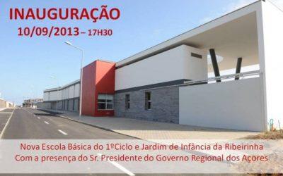 Alteração da Data da Inauguração da Nova Escola