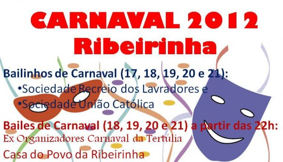 Carnaval 2012 – Ribeirinha
