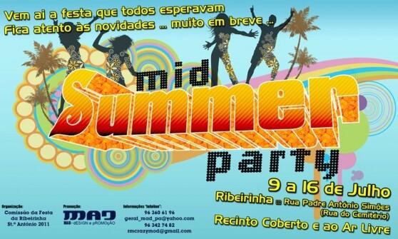 Festival MidSummer Party – 1ª Edição – Ribeirinha 2011