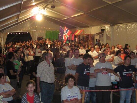 UM DIA PELA VIDA – RIBEIRINHA – Festa da Encerramento foi Um Grande Sucesso!
