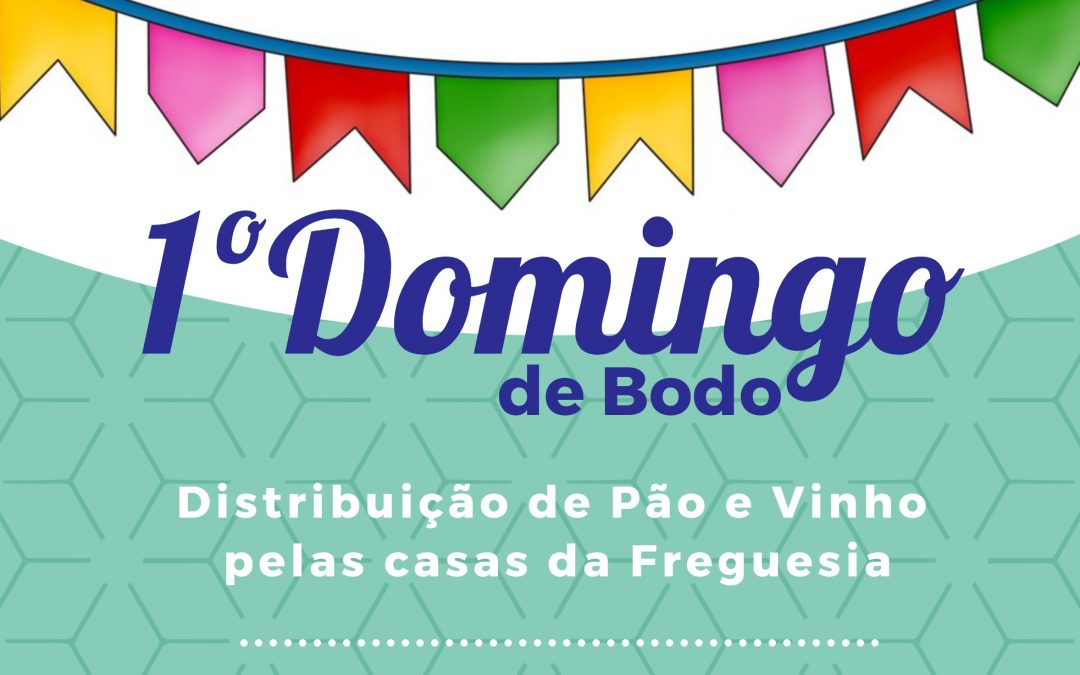 Distribuição de Pão e Vinho pela Freguesia