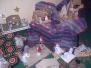 Exposição da EB1JI de Sto. Amaro com Presépios de Material Recicláveis